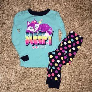 Girls pajama set, 4T